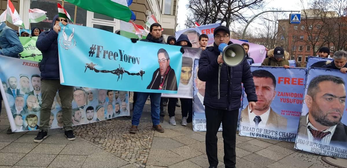 Резолюция митинга таджикских политэмигрантов у посольства Республики Таджикистан в Берлине